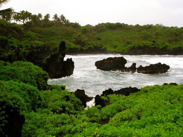 Wainapanapa - Hana Maui Hawaii villa proximity
