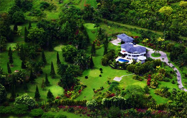 The Hana Estate Golf Course is a one of a kind on Maui, Hawaii.